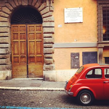 Old Fiat 500 car - Free image #331083