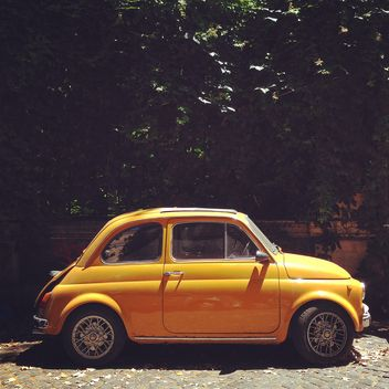 Retro Fiat 500 car - Free image #331253