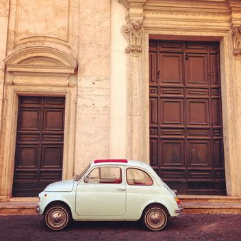 Retro Fiat 500 car - image #331263 gratis