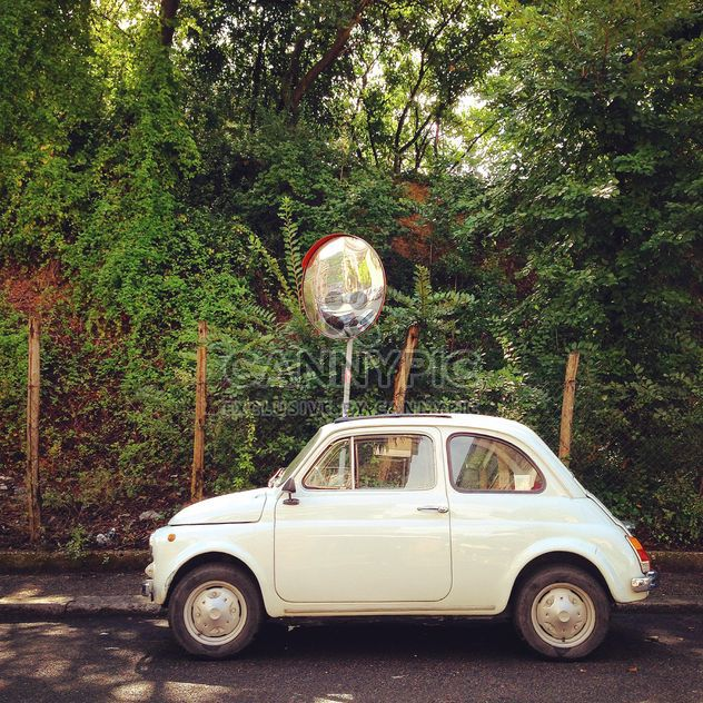 Old Fiat 500 car - Free image #331473