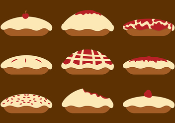 Apple Pie Vector - Free vector #331693