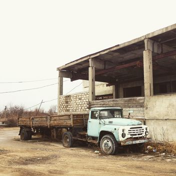 Old ZIL truck - Kostenloses image #332173
