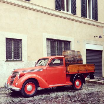 Old Fiat truck - Kostenloses image #332303