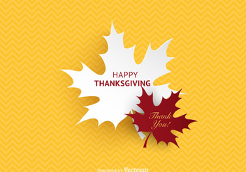 Free Happy Thanksgiving Vector Background - vector #332563 gratis
