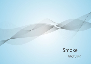 Free Smoke Waves Vector - vector gratuit #333473