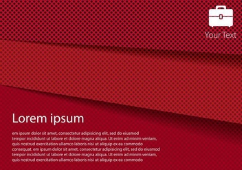 Free Red Paper Layer Vector - vector gratuit #333483