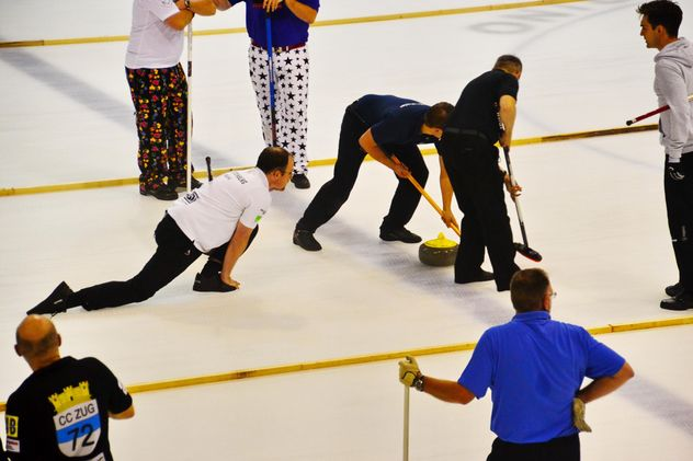 curling sport tournament - image gratuit #333573