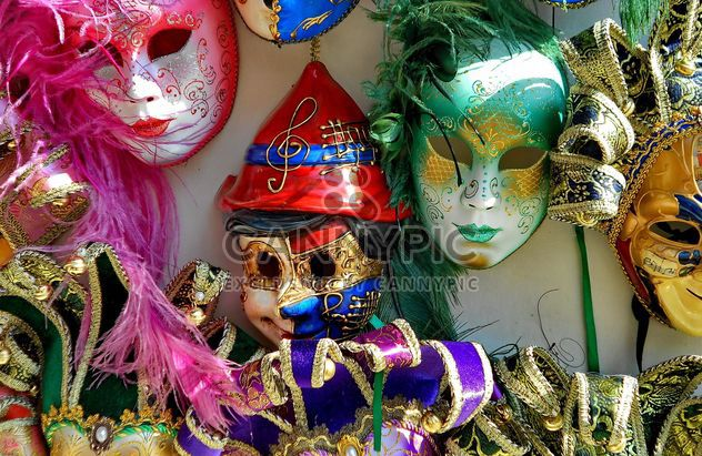 Masks on carnival - Free image #333653