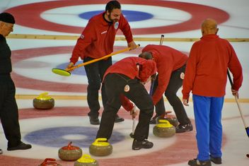 curling sport tournament - image gratuit #333783