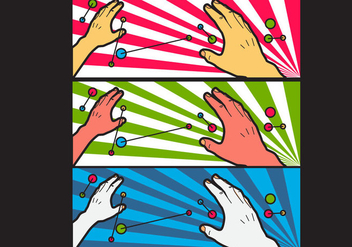 Free Simple Pop Art #4 Facebook Cover - Free vector #334033