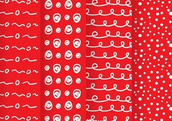 Red Dot Pattern - vector #334073 gratis