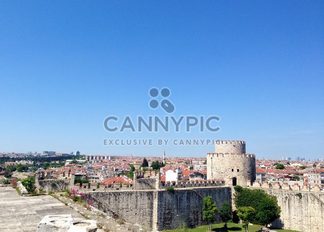 Ancient fortress-prison in Istanbul - Free image #334183