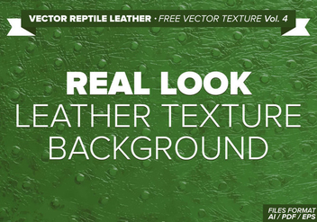 Vector Reptile Leather Free Vector Texture Vol. 4 - бесплатный vector #334583