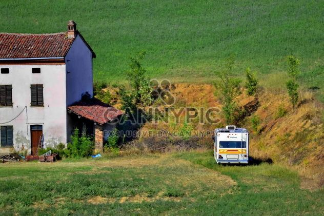 View on Monferrato village in Piemonte - бесплатный image #334763