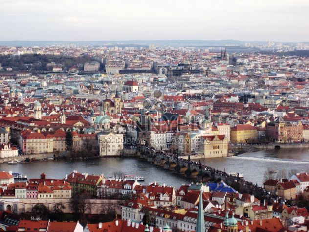 Prague from height in winter - image #335133 gratis