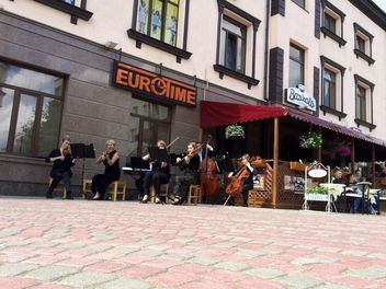 Street musicians in Rivne - Kostenloses image #335223