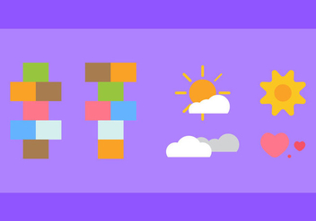 Free Hopscotch Vector Icons #3 - бесплатный vector #335393