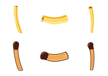 Free Churros Vector Illustration - vector gratuit #335433