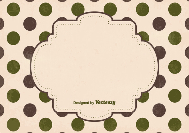 Cute Polka Dot Background - vector #335753 gratis
