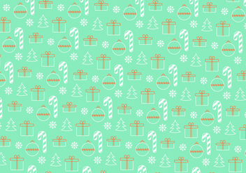 Christmas pattern background - Free vector #335783