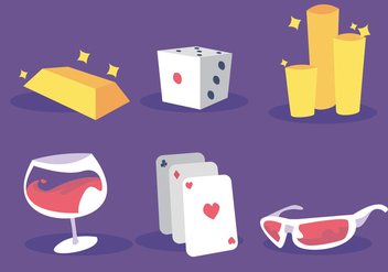 Playing Card Back Vector Set - бесплатный vector #336093