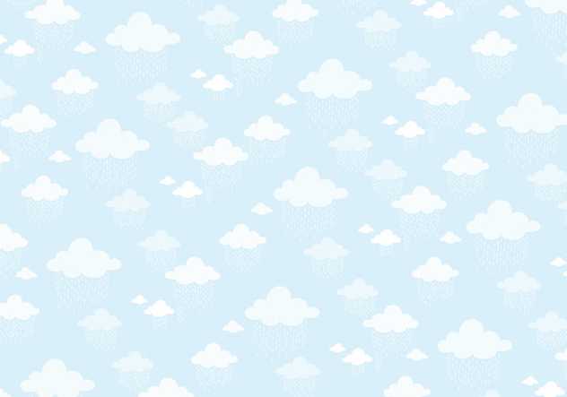 Clouds pattern background - Free vector #336143