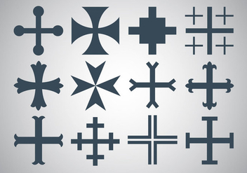 Free Maltese Cross Vector - Free vector #336573