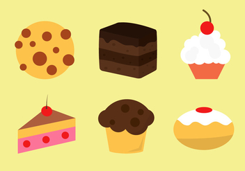 Bakery Vector Icons - бесплатный vector #336603