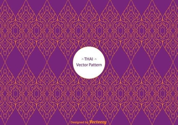 Free Thai Pattern Vector - Free vector #336793