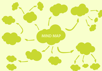 Free Mind Mapping Element Vector - Free vector #336823