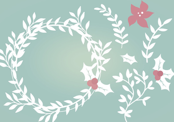 Vector Winter Elements - vector #336853 gratis