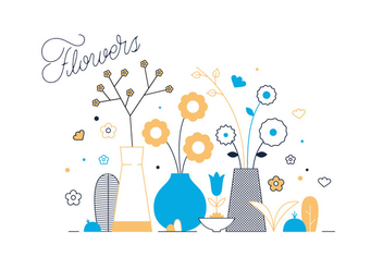 Free Flowers Vector - Free vector #337043
