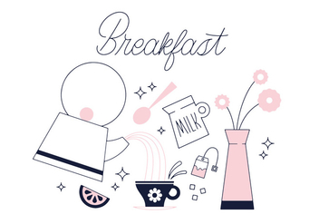 Free Breakfast Vector - бесплатный vector #337053