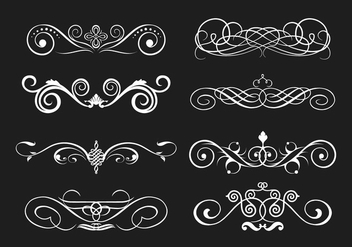 Scrollwork Vector - Free vector #337643