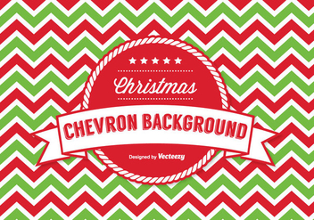 Christmas Chevron Pattern Background - vector #337673 gratis