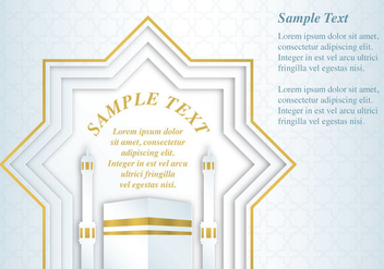 Mecca Card - Free vector #338103