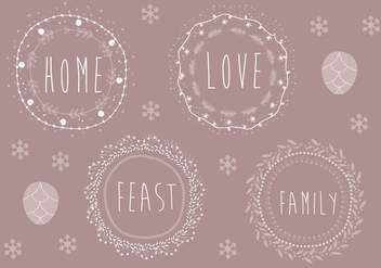 Free Christmas Background Illustration - vector #338413 gratis