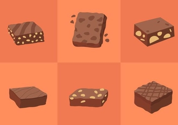 Brownie Vectors - Free vector #338693