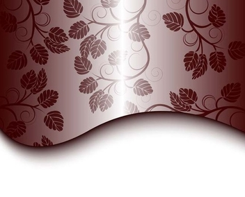 Floral gray design - vector gratuit #339003