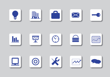 Business Icons - vector #339323 gratis