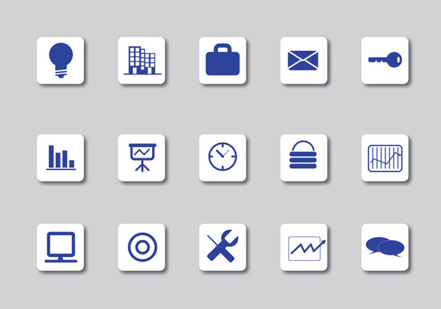 Business Icons - Free vector #339323