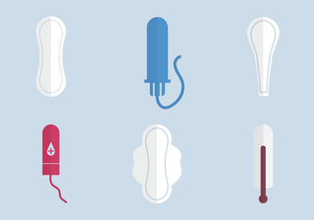 Free Tampon Vector Illustration - Kostenloses vector #339393