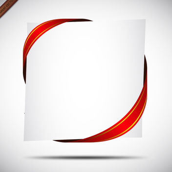 Red Ribbon Free Vector - Free vector #340003