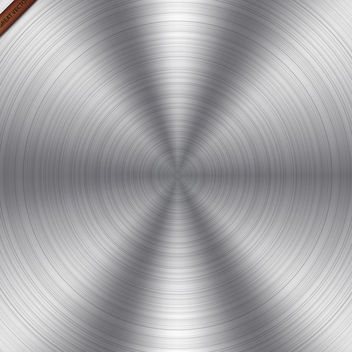 Round Metal Texture - Free vector #340063
