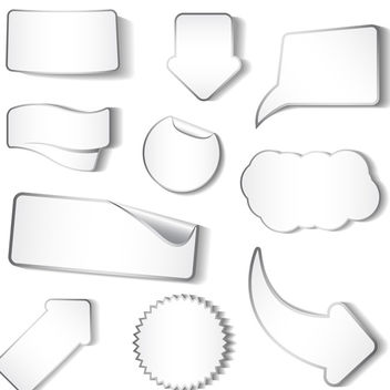 Vector Stickers - Free vector #340133