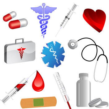 Medical Icons - vector gratuit #340163