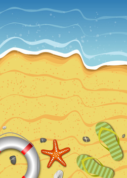 Summer Background - vector gratuit #340283