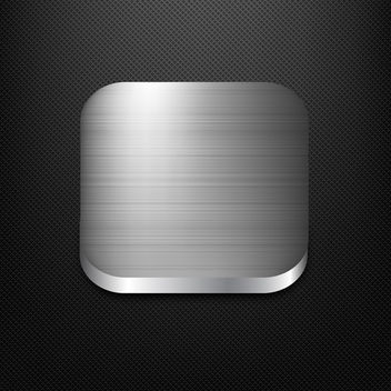 Metal App Icon - vector gratuit #340333