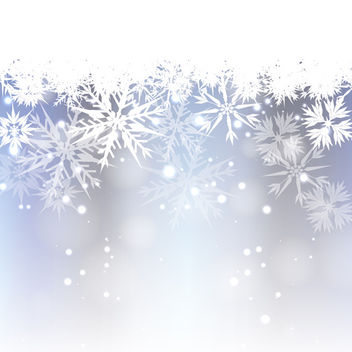 Vector Frost Background - vector gratuit #340443