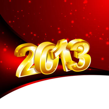New Year Design - vector gratuit #340483
